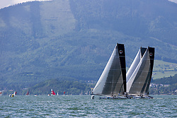 Fourth day of racing, qualifying for the finals. Austria Cup 2014, 31-05-2014 (28 May - 1 June 2014). Gmunden - Lake Traunsee - Austria.