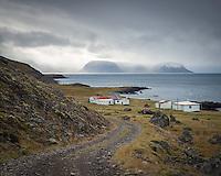 Svalvogar, deserted farm. West fiords of Iceland.