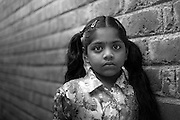 Girl and Wall - Chennai, India