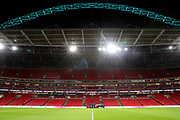 Wembley stadium during the Premier League match between Tottenham Hotspur and Brighton and Hove Albion at Wembley Stadium, London, England on 13 December 2017. Photo by Matthew Redman.