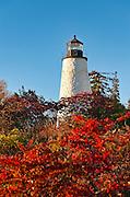 Dyce Head Lighthouse, Castine, Maine, ME, USA
