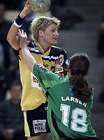 Håndball: Ikast-Bording vandt kvindernes pokalfinale 26-17 over Viborg. Kjersti Grini scorede 3 mål for Ikast.  <br /><br />Foto: Claus Bonnerup, Digitalsport