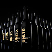 UNLTD Alcohol free IPA beer photographed in the Hype Photography studio.
