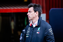 February 18, 2019 - Montmelo, BARCELONA, Spain - Toto Wolf Team Chief of Mercedes AMG Petronas Motorsport W10 portrait during the Formula 1 2019 Pre-Season Tests at Circuit de Barcelona - Catalunya in Montmelo, Spain on February 18. (Credit Image: © AFP7 via ZUMA Wire)