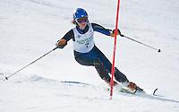 Tecnica Cup finals ladies 2nd run at Gunstock February 19, 2011.