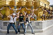 Young tourists, Bangkok, Thailand