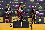 Glenn IRWIN, TAK CHUN Racing by PBM/Penz13, Ducati, Peter HICKMAN, SMT / Bathams by MGM Macau, BMW, Michael RUTTER, SMT / Bathams by MGM Macau, BMW<br /> <br /> 64th Macau Grand Prix. 15-19.11.2017.<br /> Suncity Group Macau Motorcycle Grand Prix - 51st Edition<br /> Macau Copyright Free Image for editorial use only