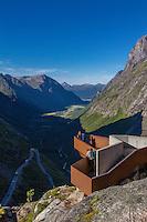 Viewpoint at Trollstigen, Norway - August