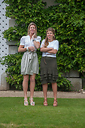 SAM SOPWITH; AMBER NUTTALL, The Cartier Style et Luxe during the Goodwood Festivlal of Speed. Goodwood House. 1 July 2012.