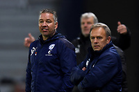 Football - 2020 / 2021 Sky Bet League One - AFC Wimbledon vs Peterborough United - Plough Lane<br /> <br /> Peterborough United manager Darren Ferguson frustrated on the touchline.<br /> <br /> COLORSPORT/ASHLEY WESTERN