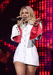Louisa Johnson on stage during day two of Capital's Jingle Bell Ball 2017 with Coca-Cola at the O2 Arena, London.<br />Picture Credit Should Read: Doug Peters/EMPICS Entertainment