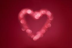 Blurred lights in heart shape (Credit Image: © Image Source/Geir Pettersen And/Image Source/ZUMAPRESS.com)