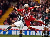 Fotball<br /> Championship England 2004/05<br /> Sheffield United v Plymouth<br /> 23. oktober 2004<br /> Foto: Digitalsport<br /> NORWAY ONLY<br /> PHIL JAGIELKA SHEFFIELD UNITED