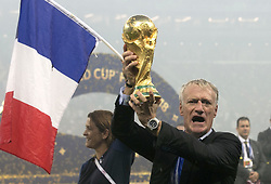 File photo dated 15-07-2018 of France head coach Didier Deschamps. Issue date: Tuesday June 1, 2021.