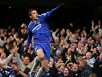 Photo: Tom Dulat/Sportsbeat Images.<br /> <br /> Chelsea v Sunderland. The FA Barclays Premiership. 08/12/2007.<br /> <br /> Chelsea's Andriy Shevchenko celebrates his opener of the game. Chelsea leads 1-0