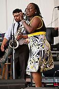 Sharon Jones and the Dap-Kings at Appel Farms Music & Arts Festival, Elmer, NJ 6/5/2010.