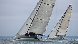 © Sander van der Borch. Cowes - England, August 4, 2009. Cowes week, IRC super zero class, first day of racing Beau Geste in the round the island race during Cowes week.