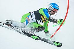 Zan Groselj (SLO) during 1st run of Men's Slalom race of FIS Alpine Ski World Cup 57th Vitranc Cup 2018, on March 4, 2018 in Kranjska Gora, Slovenia. Photo by Ziga Zupan / Sportida