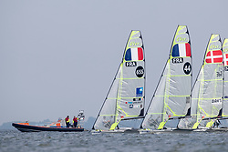 The Allianz Regatta is the first event of the 2021 Hempel World Cup Series. Hosted in Medemblik, The Netherlands, 350 sailors will race across eight Olympic classes across two weeks of competition. 10 June, 2021 © Sander van der Borch / Allianz Regatta