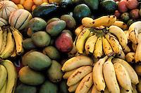 France - Département d'Outre mer de la Guadeloupe (DOM) - Pointe à Pitre - Marché de la Darse Fruits