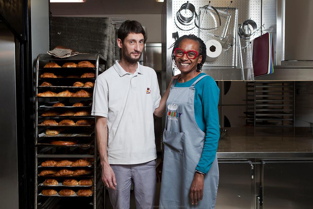 Swan et Khadija, boulangerie Tembely