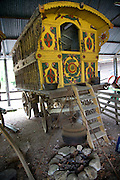 Gypsy caravan, Museum of East Anglian Life, Stowmarket, Suffolk