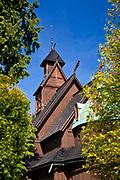 Kościół Górski Naszego Zbawiciela (Kościół Wang lub Świątynia Wang), Karpacz, Polska <br /> Vang stave church (Wang Temple), Karpacz, Poland