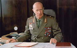 June 21, 2017 - Russia - June 21, 2017. - Russia. Yuri Drozdov, the Soviet spymaster who oversaw a sprawling network of KGB agents abroad, died Wednesday. He was 91. Drozdov, a World War II veteran, joined the KGB in 1956 and was dispatched as a liaison officer with the East German secret police, the Stasi. In 1962, he took part in the exchange of Soviet undercover agent Rudolf Abel convicted in the U.S. for downed American spy plane pilot Francis Gary Powers. Drozdov also founded the KGB's Vympel special forces unit intended for covert operations abroad. In picture: Yuri Drozdov. Photo: nvdaily.ru (Credit Image: © Russian Look via ZUMA Wire)