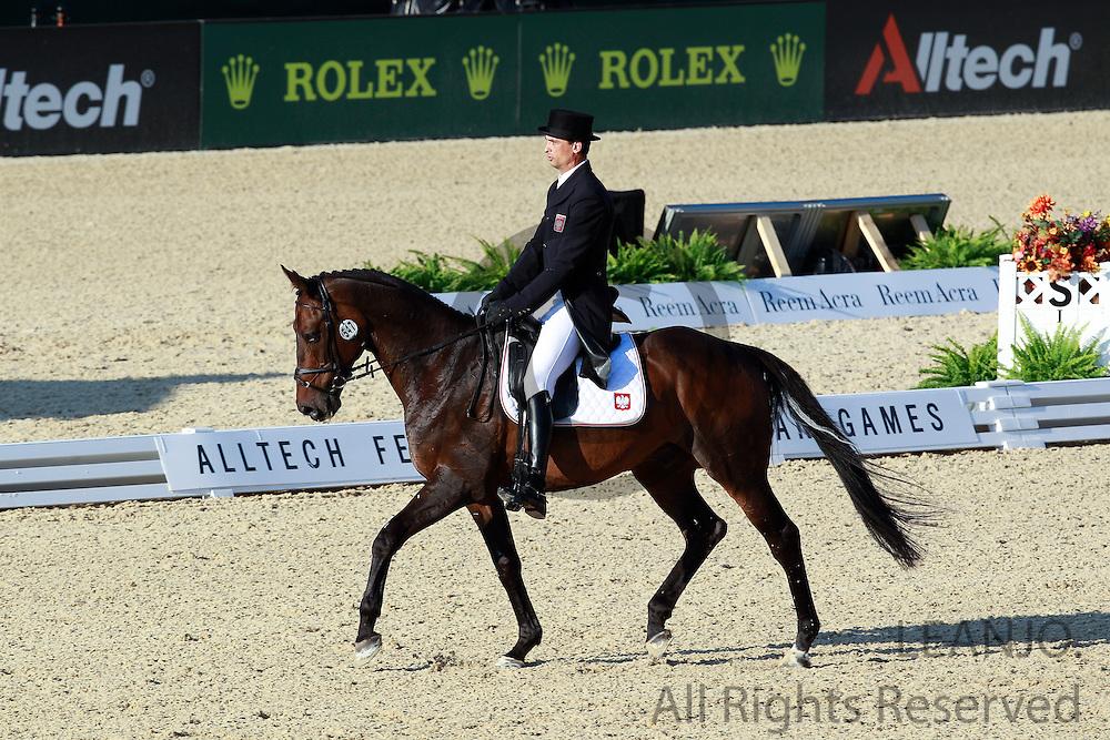 Lukasz Kazmierczak - Ostler<br /> Alltech FEI World Equestrian Games <br /> Lexington - Kentucky 2010<br /> © DigiShots