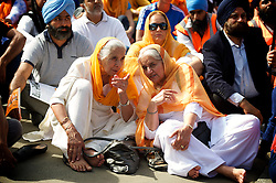 30th Anniversary of Sikh Genocide in 1984 rally <br /> Trafalgar Square, London, Great Britain <br /> 8th June 2014 <br /> <br /> Sikh Genocide 1984 commemoration <br /> <br /> with Rt Hon Simon Hughes MP <br /> speaking <br /> <br /> Photograph by Elliott Franks
