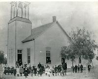 1884 Students at Cahuenga Township School