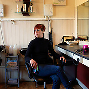 Lisa Andrews at Lisa's Hair Studio, Parson Cross, Sheffield, South Yorkshire, UK