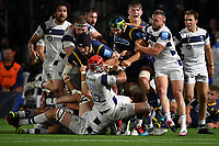 Rugby Union - 2019 / 2020 Gallagher Premiership - Worcester Warriors vs Bristol Bears<br /> <br /> Worcester Warriors' Andrew Kitchener (arm raised) fights with Bristol Bears' Siale Piutau (red cap), at Sixways.<br /> <br /> COLORSPORT/ASHLEY WESTERN