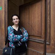 Piccolo Teatro Grassi, Milano, Italia, 6 Aprile 2021. Lena Rumy, 33 anni, regista.
