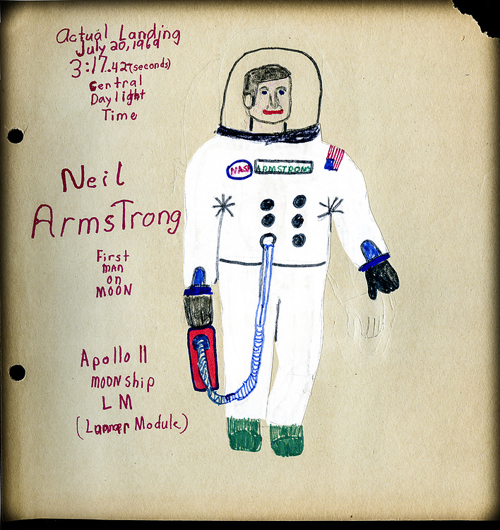 Tom's artwork, age 10