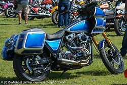 At the 3rd Annual FXR Show at City Park during the 75th Annual Sturgis Black Hills Motorcycle Rally.  SD, USA.  August 2, 2015.  Photography ©2015 Michael Lichter.