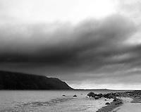 Utsikt fra Giske mot Alnes på Godøya.<br /> Foto: Svein Ove Ekornesvåg