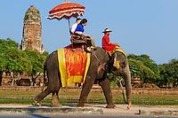 Thailande, province de Phra Nakhon Si Ayutthaya, Ayutthaya, Parc Historique, Wat Phra Ram // Thailand, Ayutthaya, Ayutthaya Historical Park, Wat Phra Ram