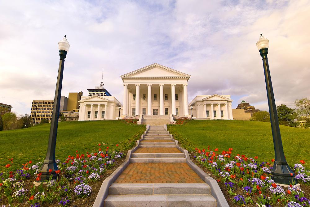 Virginia State Capitol, Richmond, Virginia USA