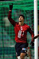 FOOTBALL - FRENCH LEAGUE CUP 2009/2010 - 1/8 FINAL - 13/01/2010 - LILLE OSC v STADE RENNAIS -  PHOTO GUY JEFFROY / DPPI - JOY TULIO DE MELO (LIL)