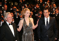 Director Philip Kaufman, Actress Nicole Kidman and actor Clive Owen at the Heminway & Gellhorn gala screening at the 65th Cannes Film Festival France. Friday 25th May 2012 in Cannes Film Festival, France.
