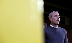 Charlton Athletic caretaker manager Lee Bowyer before the game