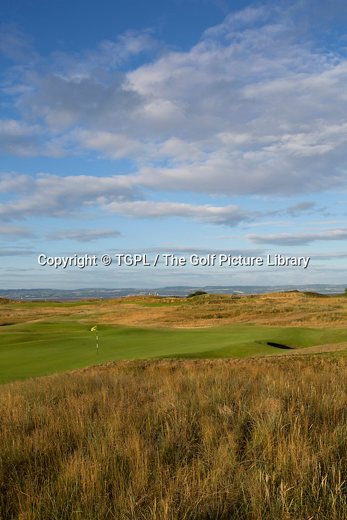 15th par 3  Royal Liverpool Golf Club, Hoylake,Wirral,England, during summer 2013,venue for the 2014 Open Championship.