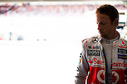 Hungarian Grand Prix 2013<br /> our best selection from Award winning Photographer Darren Heath.<br /> Jenson Button after finishing<br /> ©Darren Heath/Exclusivepix