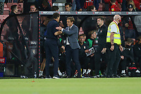 Football - 2021 / 2022 EFL Sky Bet Championship -AFC Bournemouth vs. West Bromwich Albion - The Vitality Stadium<br /> <br /> Bournemouth's Manager Scott Parker and West Bromwich Albion Head Coach Valerien Ismael after the final whistle at the Vitality Stadium (Dean Court) Bournemouth <br /> <br /> COLORSPORT/Shaun Boggust