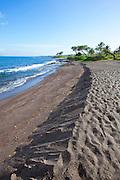 Oneuli Beach, Black Sand Beach, Makena, Maui, Hawaii