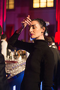 ERIN O'CONNOR, Luminous -Celebrating British Film and British Film Talent,  BFI gala dinner & auction. Guildhall. City of London. 6 October 2015.