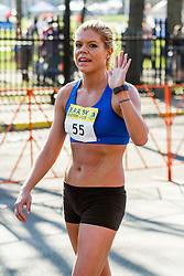Boston Marathon: BAA 5K road race, Erica Jesseman