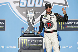 March 11, 2018 - Avondale, Arizona, United States of America - March 11, 2018 - Avondale, Arizona, USA: Kevin Harvick (4) celebrates in victory lane after winning the Ticket Guardian 500(k) at ISM Raceway in Avondale, Arizona. (Credit Image: © Chris Owens Asp Inc/ASP via ZUMA Wire)