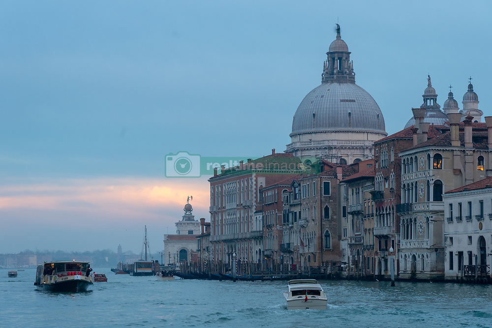 Santa Maria della Salute, commonly known simply as the Salute, in Venice. From a series of travel photos in Italy. Photo date: Monday, February 11, 2019. Photo credit should read: Richard Gray/EMPICS